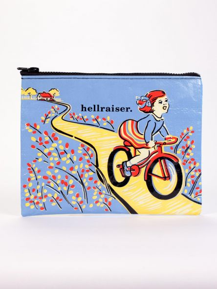 Hellraiser Zipper Pouch Blue Q Top Gifts