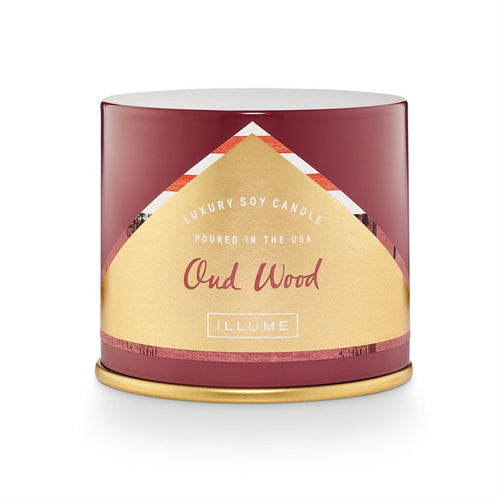 Oud Wood Candle - Illume