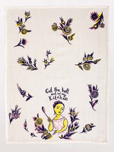 Get the Hell Out - Dishtowel