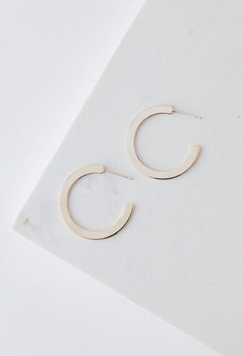 Lover's Tempo Earrings - Hoops