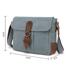 Brodi Canvas Shoulder Bag - Khaki