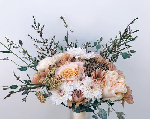 Bohemian Wedding Sunset Bouquet