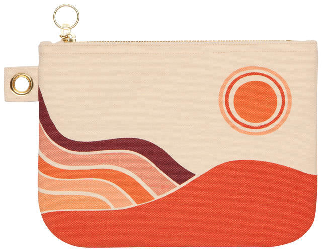 Solstice Zipper Pouch Large