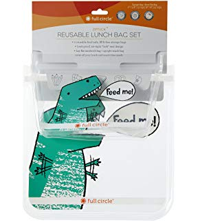 TREX Kids Reusable Lunch Bags