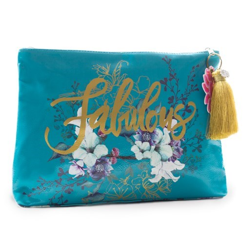 Papaya Fabulous Clutch Cosmetic Case