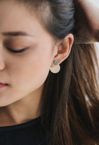 Disc-O Jacket Earring