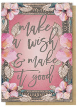 Make  Wish Birthday Card