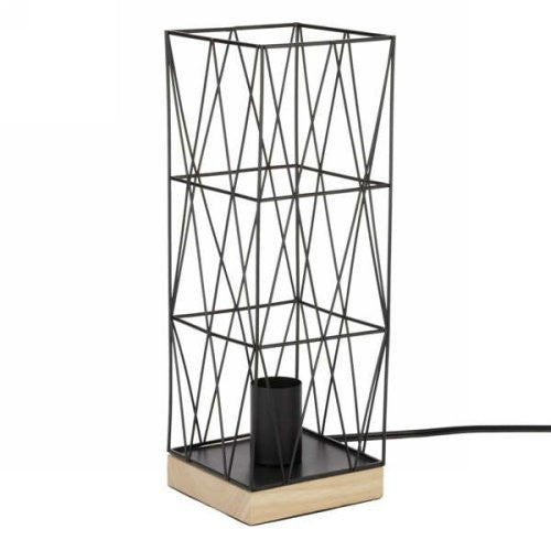Square Industrial Table Lamp
