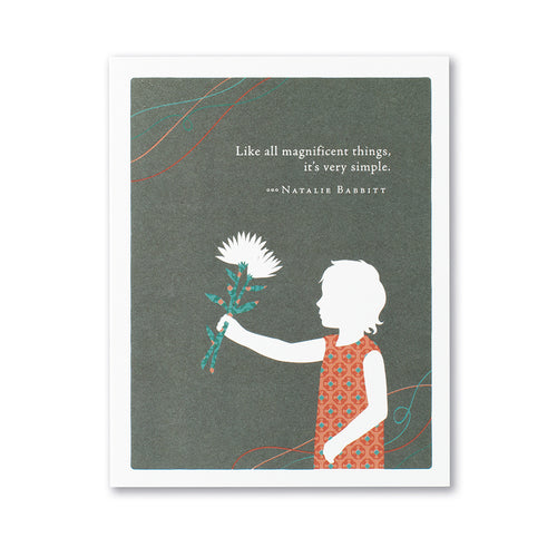 Magnificent Things - Mother's Day Card