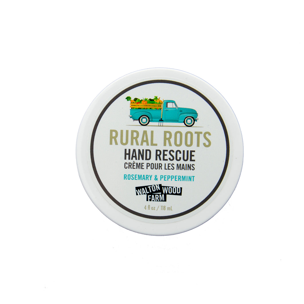 Rural Roots Hand Rescue Lotion Walton Wood Farm