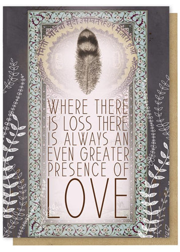 Presence of Love Sympathy Card