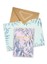 Papaya Greeting Card Eucalyptus Thank You