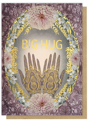 Papaya Greeting Card Big Hug