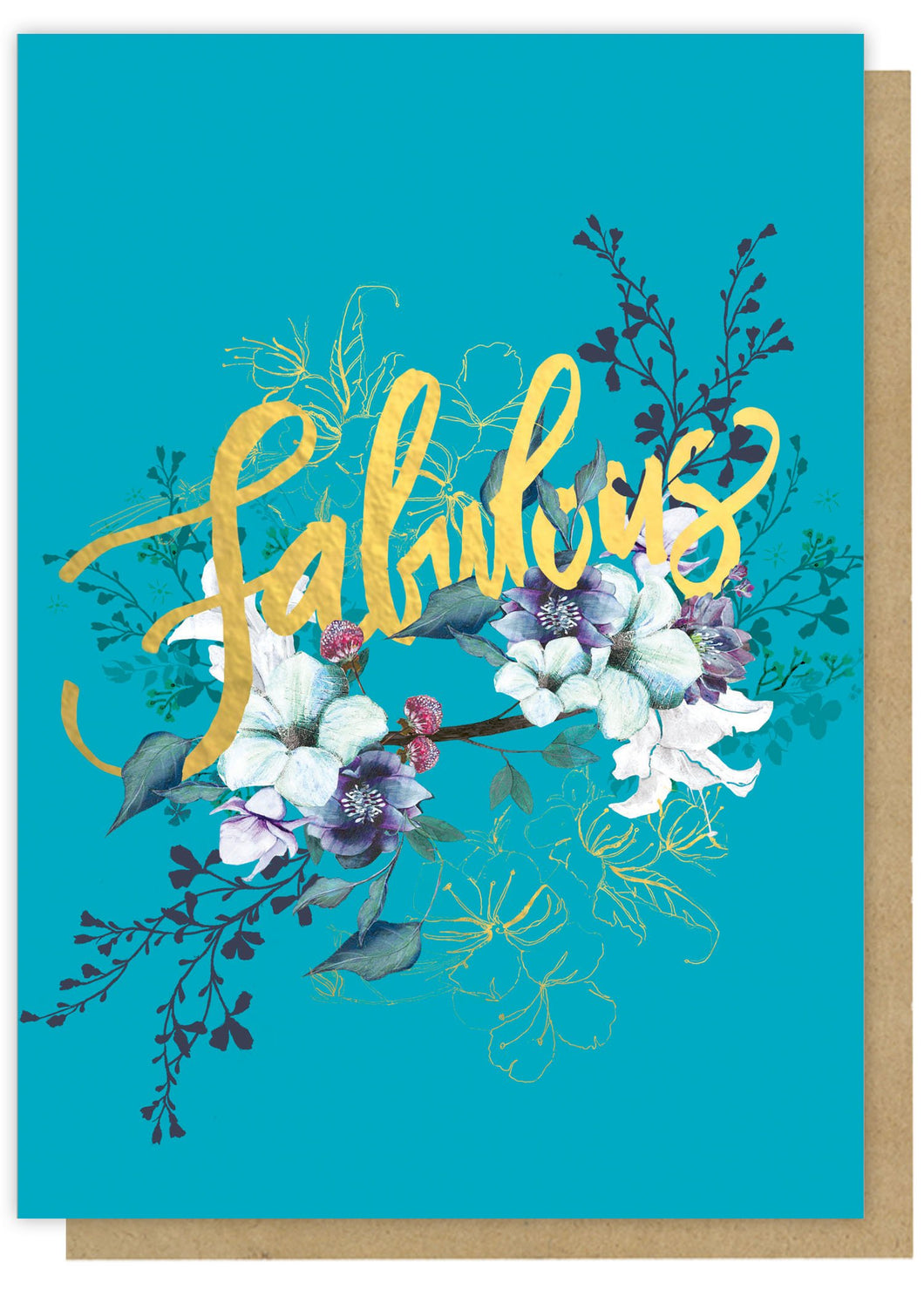 Papaya - Fabulous Greeting card
