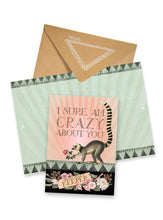 Papaya - Crazy About You Greeting Card