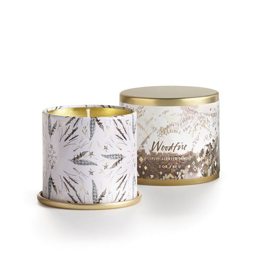 Woodfire Illume Candle