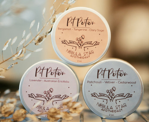 Nebula Star Pit Potion Natural Deodorant Canada