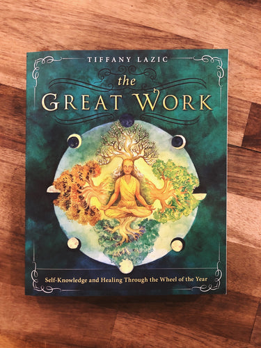 The Great Work Tiffany Lazic Book Canada