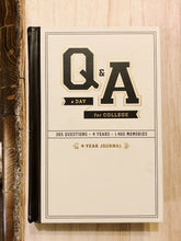 Q&A a Day For College Journal 5 year Canada