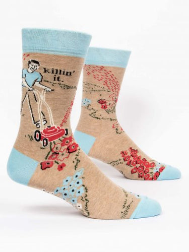 Killin' It - Men's Socks - Blue Q - Great Gift