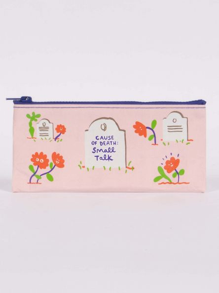 Cause Of Death Pencil Case Blue Q
