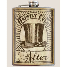 Happily Ever After Top Hat Flask
