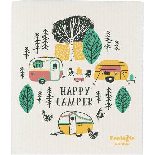 Danica Swedish Dishcloth Happy Camper Canada