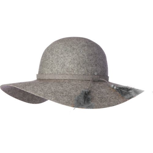 Kooringal Hats Womens Ever After Wide Brim Hat Grey Marle Canada