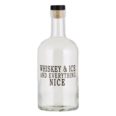 Whiskey and Ice Decanter