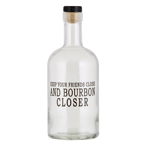 Bourbon closer Decanter