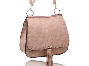 Blush Boho Saddle Bag Purse