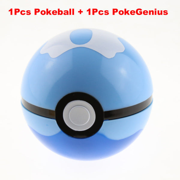 Arpa Trainer Pokeball 3in (13 Style) Love Park Ball Masterball GS Ultra Dive Action Figures Doll Japan Anime Toys with Pikachu-NicheCategory