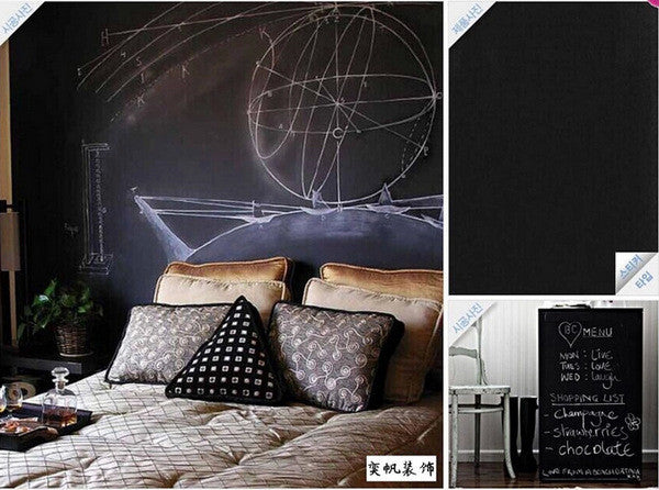Chalk Board Blackboard Stickers Removable Vinyl Draw Decor Mural Decals Art-NicheCategory