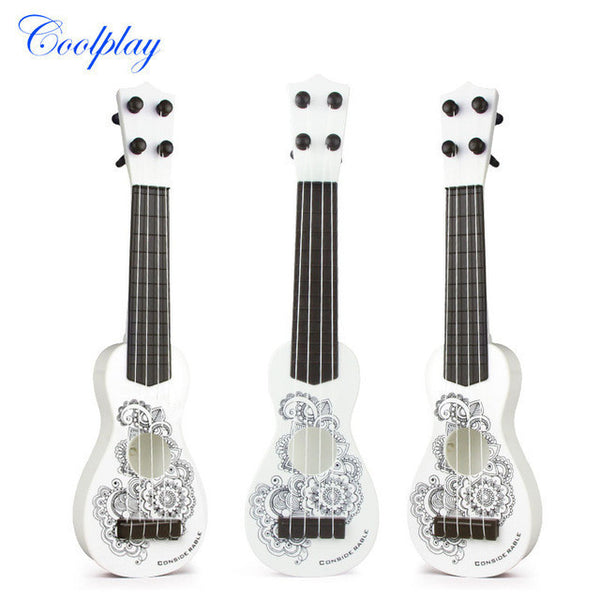 Coolplay Kid's Baby 4 String Wood Acoustic Ukelele Simulation Music Guitar-NicheCategory