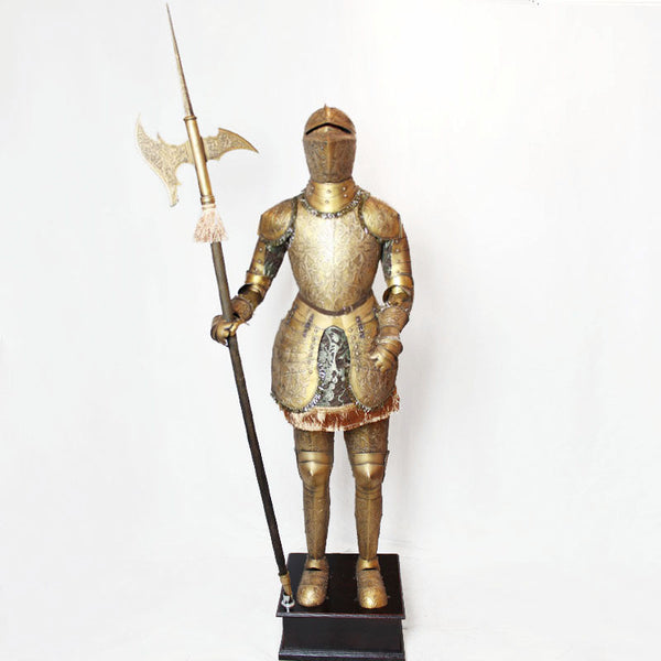 Decorative medieval armor / European craft ornaments / decorations in the lobby bar and restaurant-NicheCategory