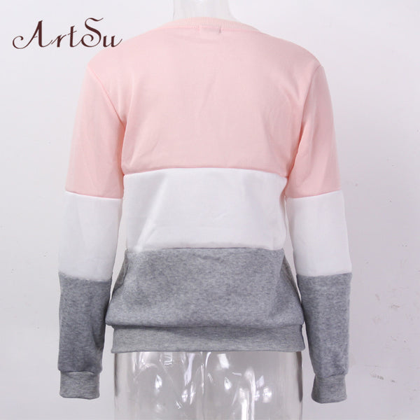 Different women's casual sweatshirt Autumn winter women fleece-NicheCategory
