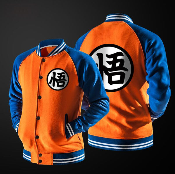 Dragon Ball Anime Hoodie Cosplay Jacket Coat College Casual Sweatshirt-Clothing-NicheCategory