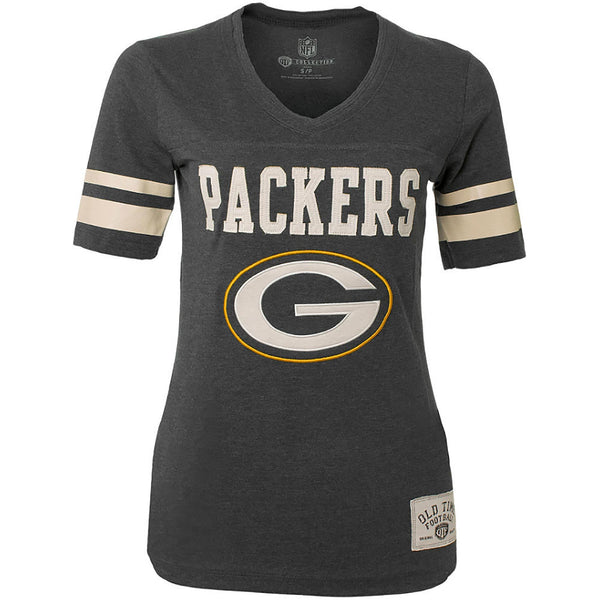 Green Bay Packers Women's Cheer Printed TShirt Size S-NicheCategory