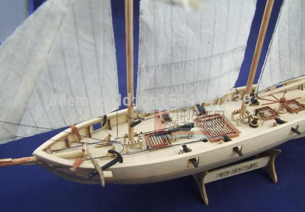 Halcon1840 Model Sailboat 1/100 Scale Wooden Ship + Brass updates kits-NicheCategory
