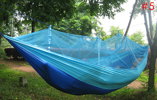 Hammock Travel Camping Multi-color Single Person Hammock Portable Parachute-Clothing-NicheCategory