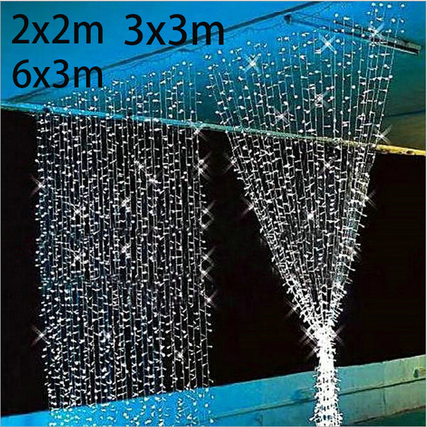 LED String 10x10ft (3mx3m) Christmas New Year Garlands Christmas Lights Fair-NicheCategory