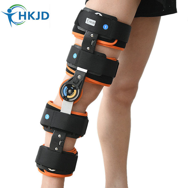 Medical Orthopedic Knee Brace Angle 120° Adjustable Support Orthosis-NicheCategory