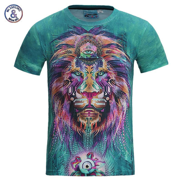 Men/women 3D T-shirt funny colorful Print cool tshirt Streetwear-NicheCategory
