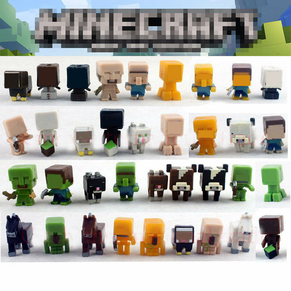 Minecraft Game Brinquedo Toys (36PCS/lot) Super Hero Building Blocks Toys Action Toy Figures For Gift-NicheCategory