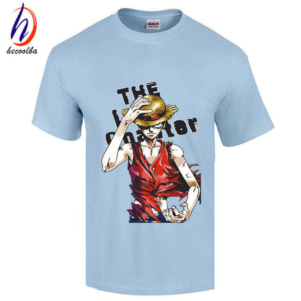 One Piece 100% cotton t-shirt clothing Monkey.D.Luffy-NicheCategory