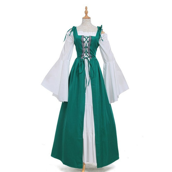 Renaissance Victorian Medieval Gothic Evening Dresses Ball Gowns Costumes-NicheCategory