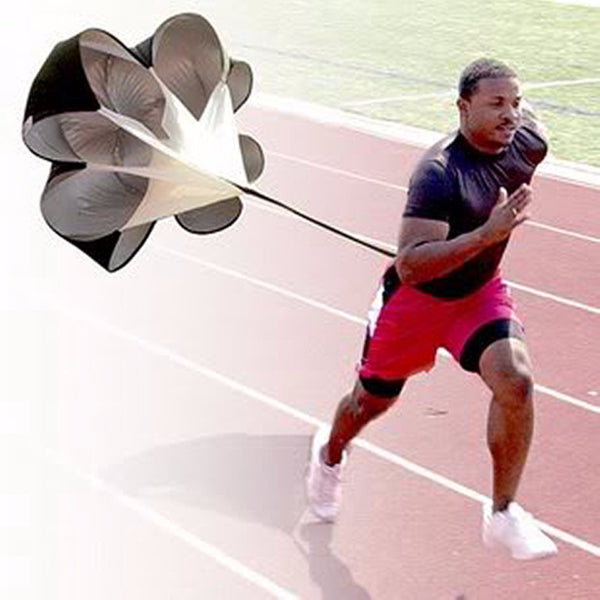 "Speed Resistance Training 56"" Parachute Running Chute Soccer Football Training P-Clothing-NicheCategory"