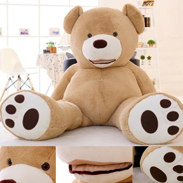 Teddy bear skin Giant Luxury DIY Plush 80in Extra Large-NicheCategory