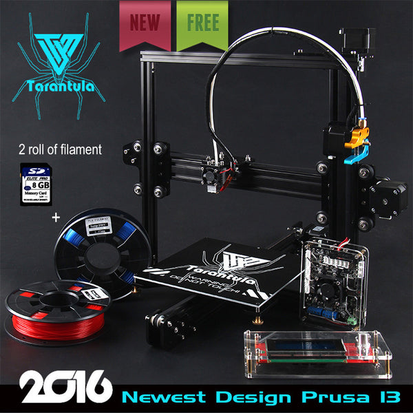 TEVO Tarantula I3 Aluminium Extrusion 3D Printer kit w/ 2 Rolls Filament 8GB SD-NicheCategory