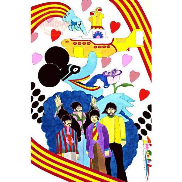 The Beatles Various Posters Home Decor Modern Art Wall Poster-NicheCategory